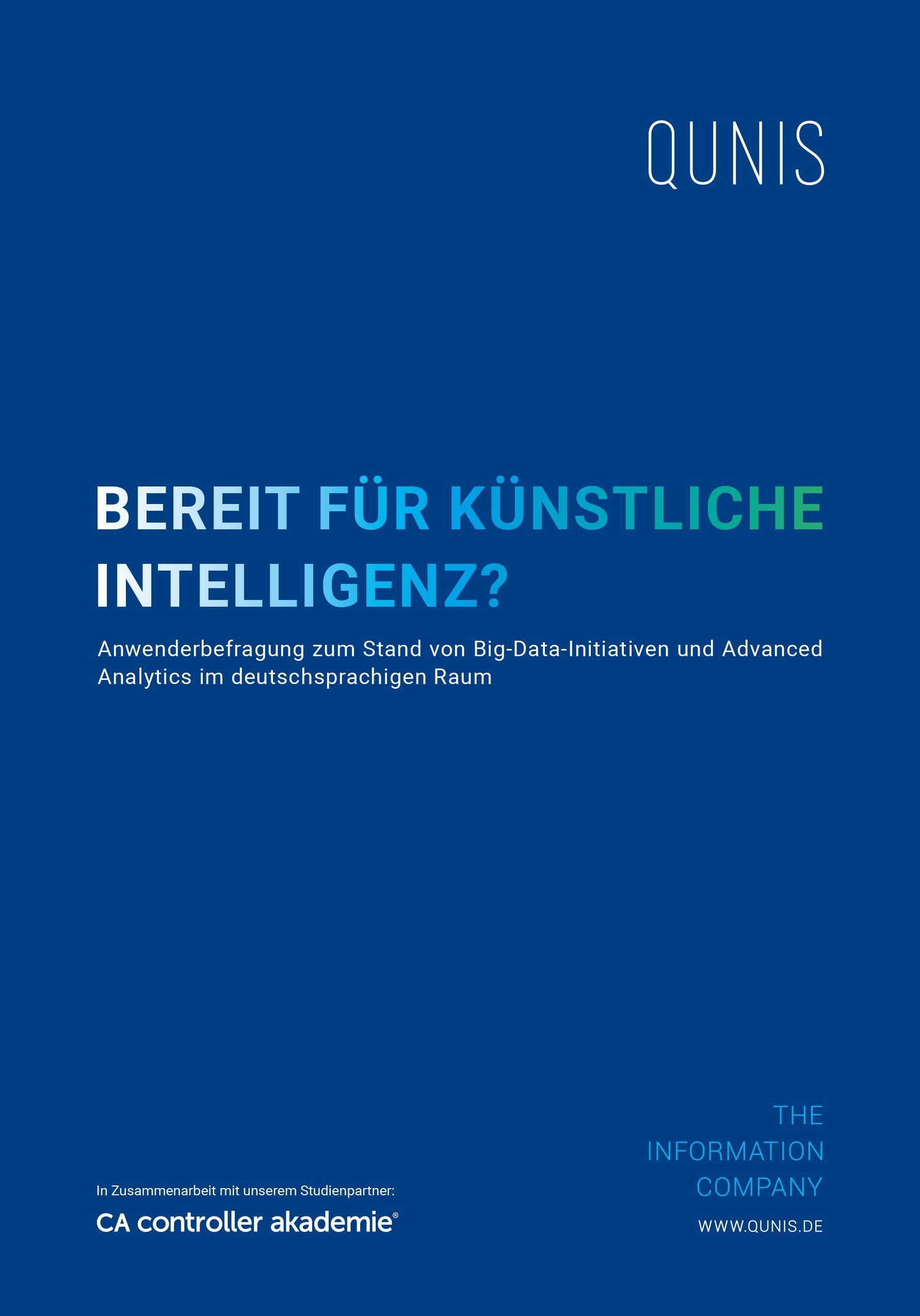 Studie Big Data und Künstliche Intelligenz