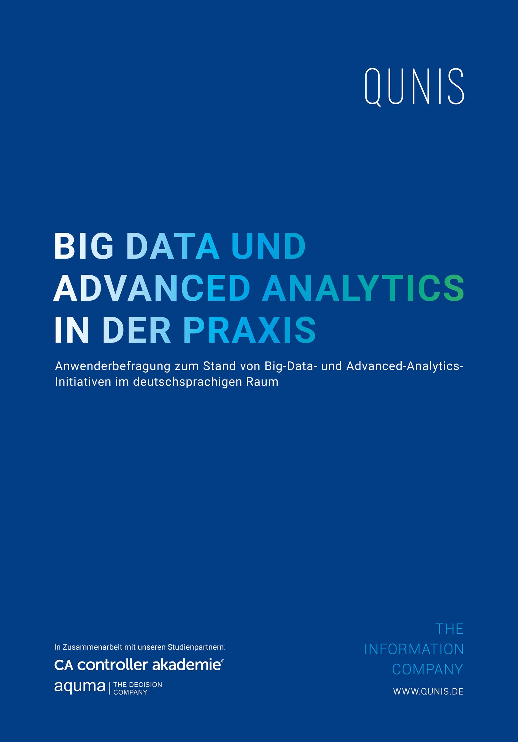 Umfrage Projekte mit Big Data